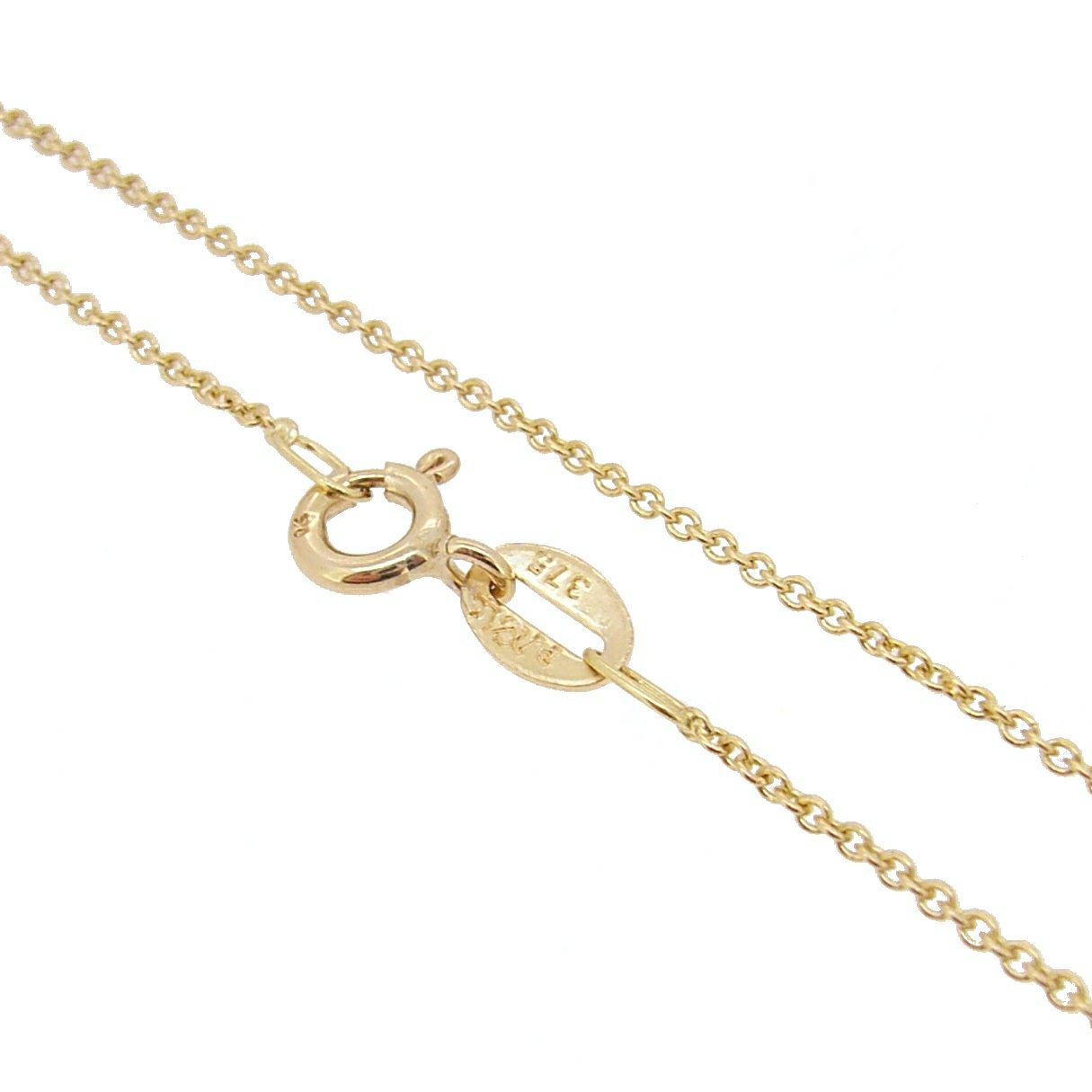 Cable Chain 9ct Gold 1.5mm Anklet