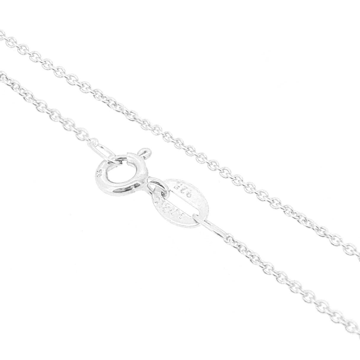 Sterling Silver 1.5mm Cable Chain Anklet
