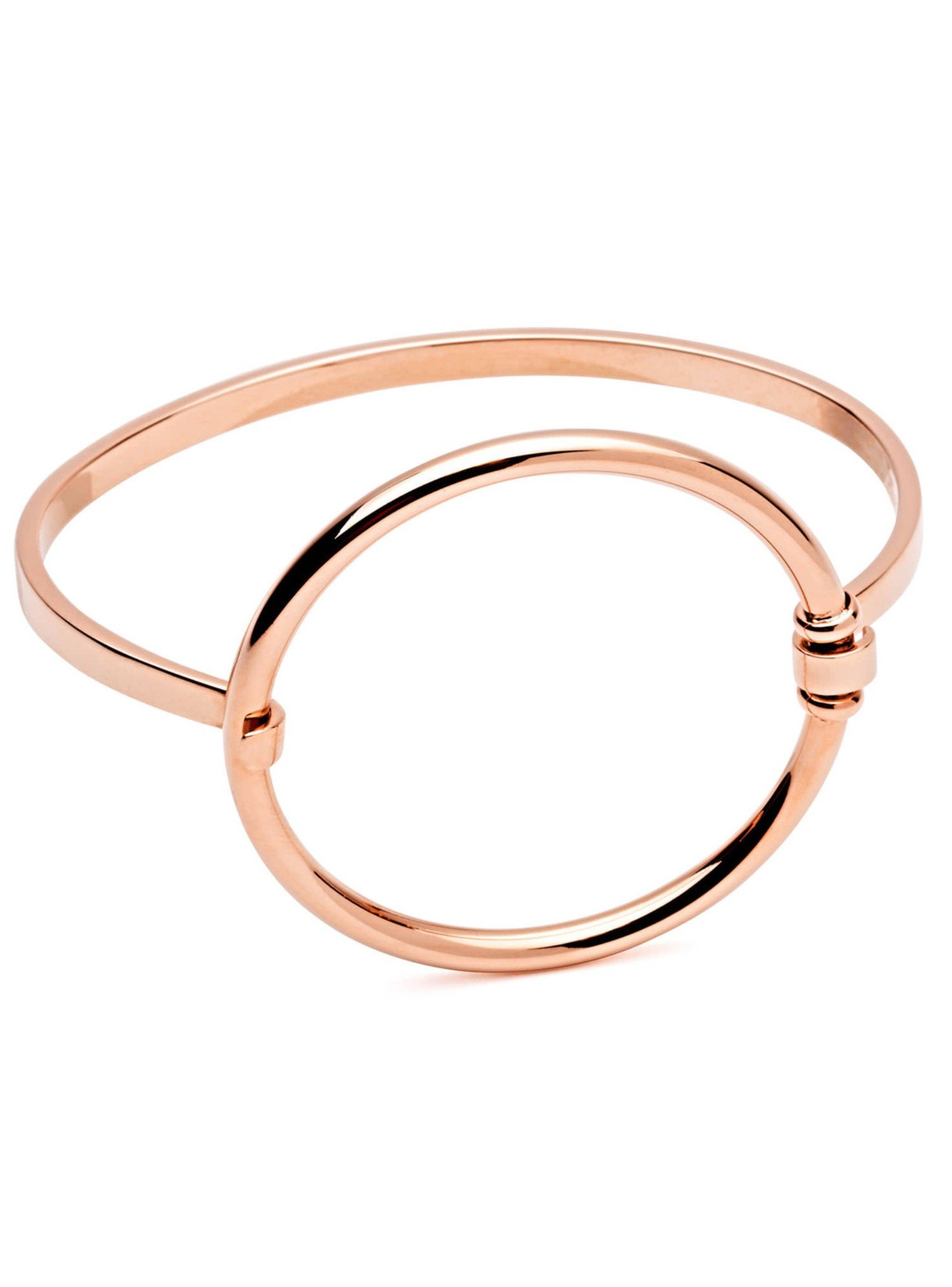 Daybreak Rose Gold Stainless Steel Bangle