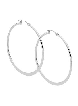 Large Hoop Earrings in Stainless Steel