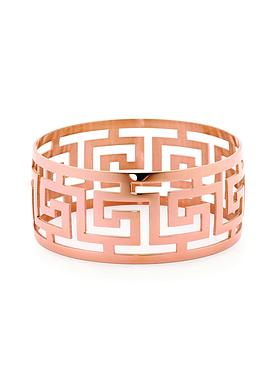 Cyprus Rose Gold Bangle in Stainless Steel