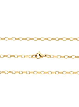 Belcher Chain Yellow Gold Chain in Stainless Steel