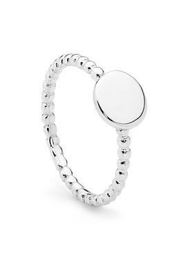 Evolve Silver Ring