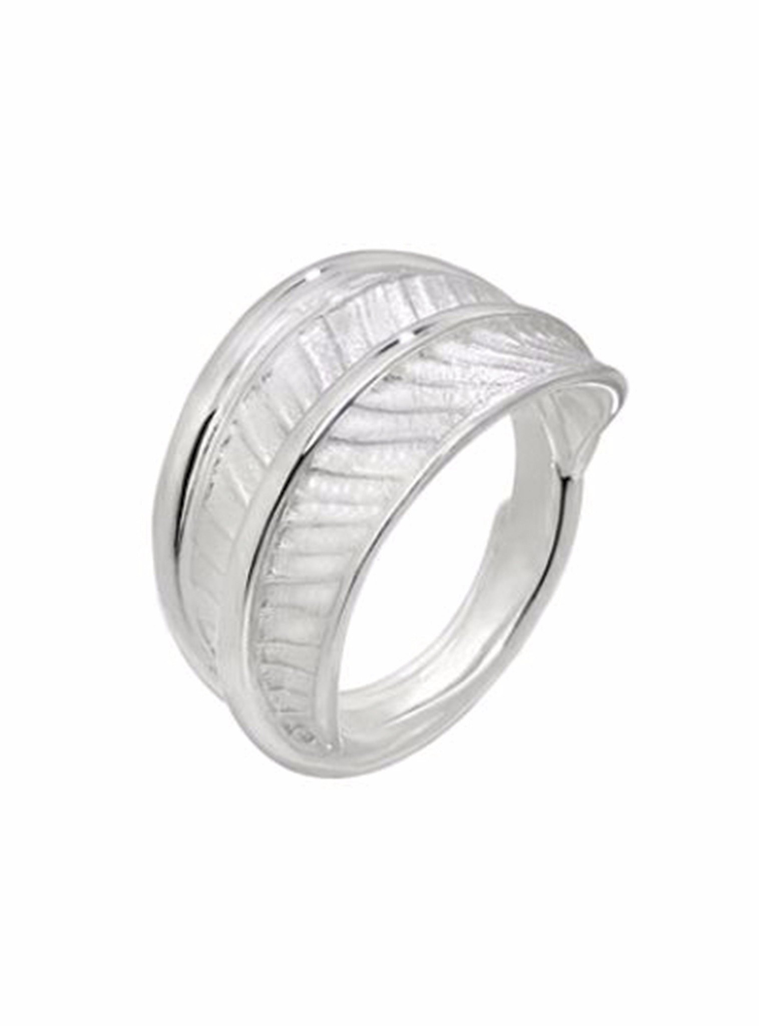 Fern Leaf Ring in Sterling Silver