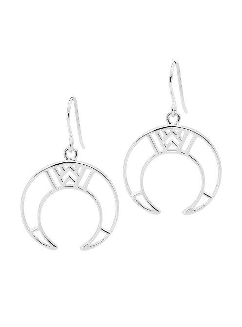 Beginners Luck Earrings in Silver