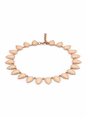 Liana Rose Gold Necklace in Stainless Steel
