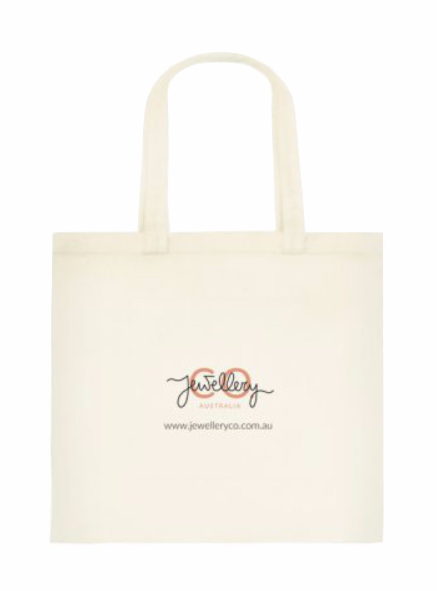 Jewellery Co Signature Canvas Tote Bag