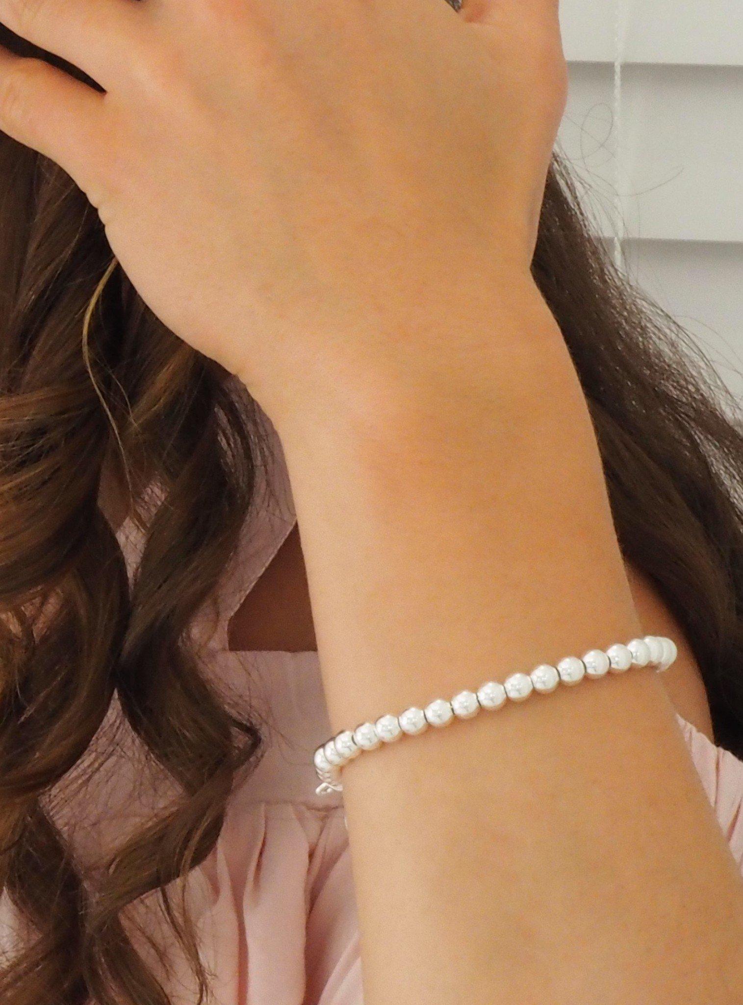 Ball Bracelet in Sterling Silver