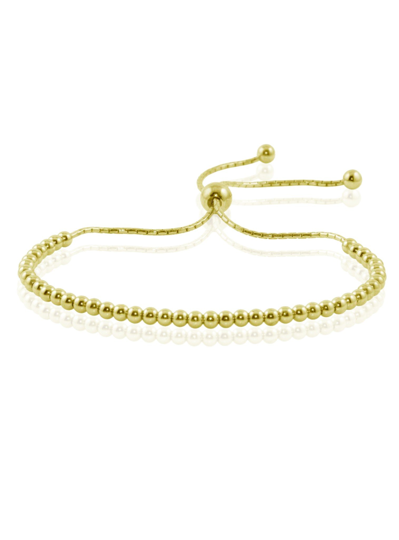 Elise Ball Bracelet in Gold