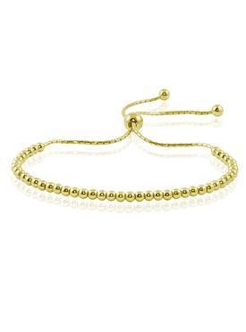 Elise Ball Bracelet in Gold