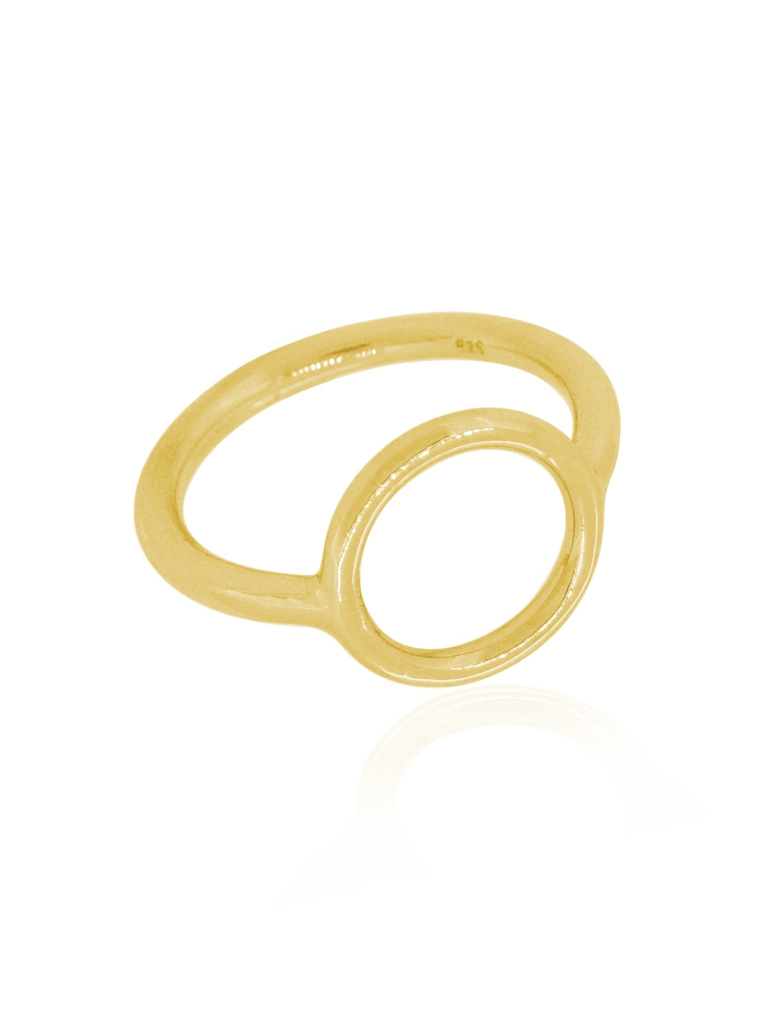 Hope Circle Ring in Gold