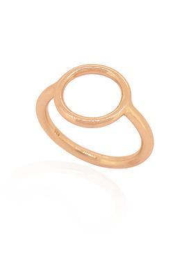 Hope Circle Ring in Rose Gold