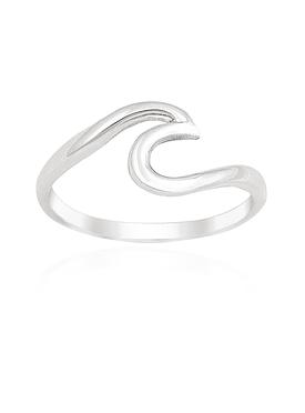 Mariana Wave Ring in Silver