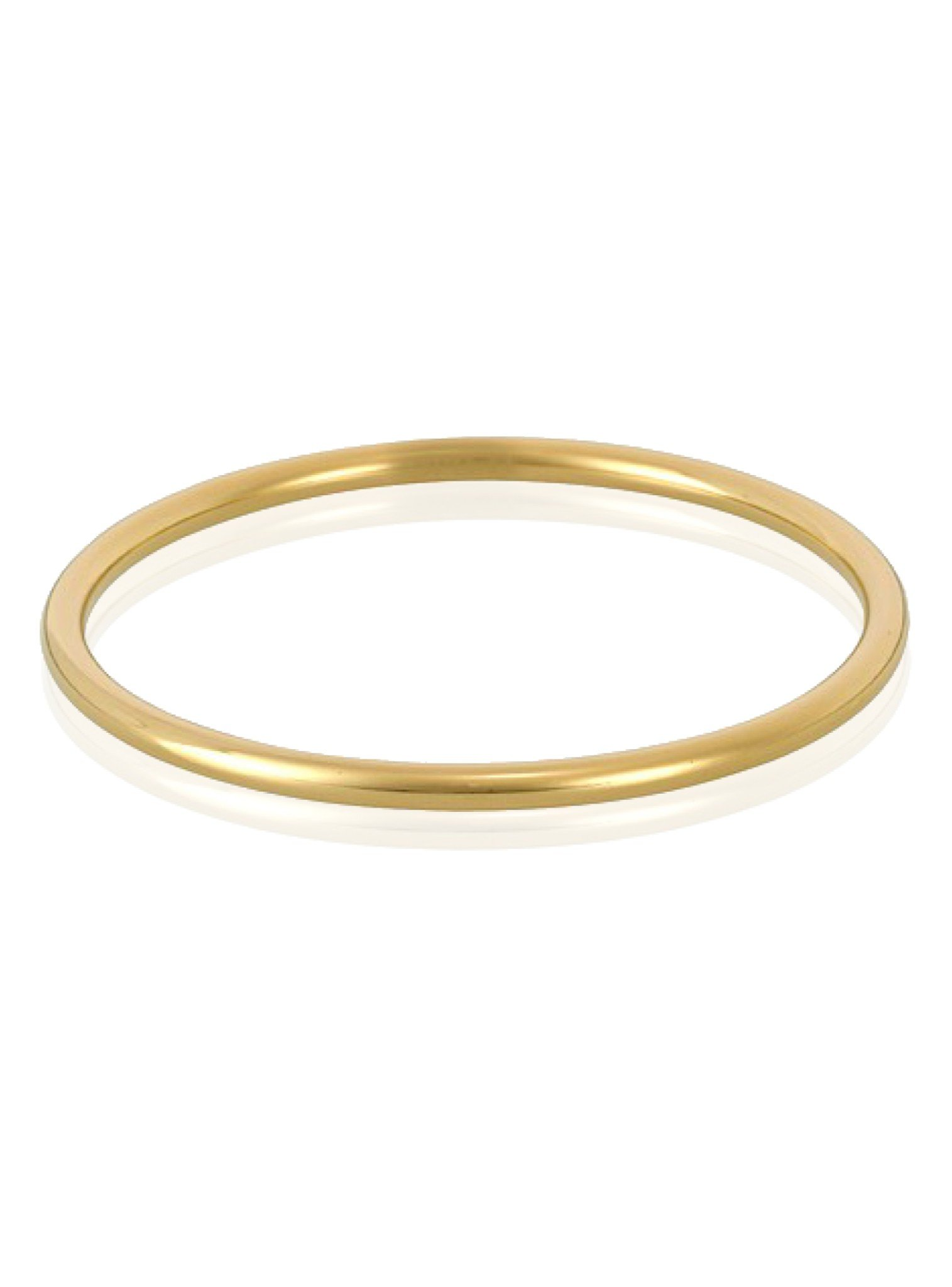 Simple Golf Bangle in Gold