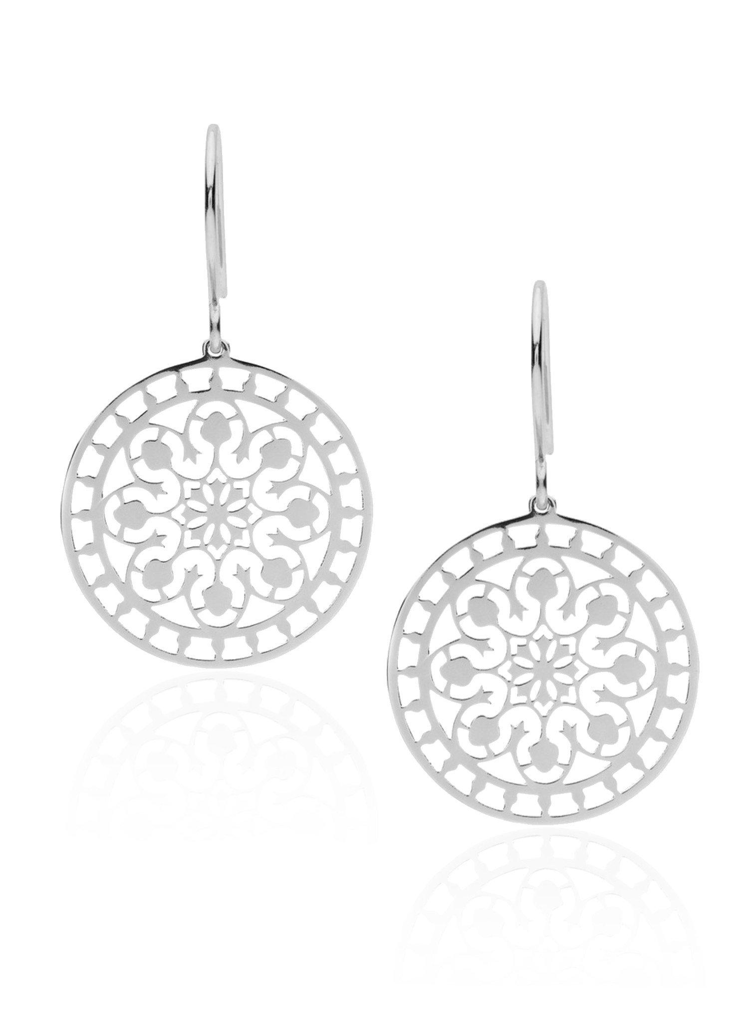 Pastiche Tahiti Earrings in Silver