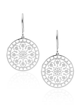 Pastiche Tahiti Earrings in Silver