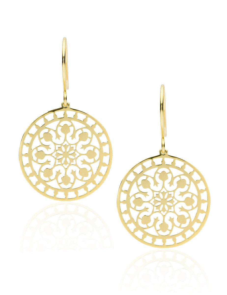 Pastiche Tahiti Earrings in Gold