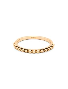 Pastiche Ball Stacking Ring in Gold