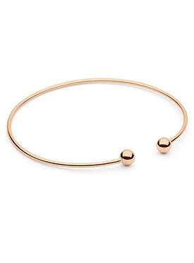 Kiss to the Night Bangle in Rose Gold